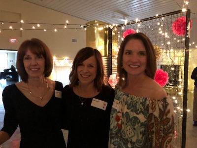 "Susan, Leslie and Tonya enjoying Holton Hospital Foundation's Annual ""Uncorked"" Event!"